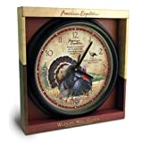 American Expedition Wall Clock (Wild Turkey)