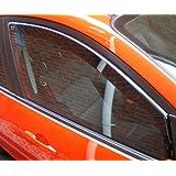 HEKO-25364 VAUXHALL CORSA D 3-Door 2006-2012 Heko Wind Deflectors 2pc set - Fits all trims