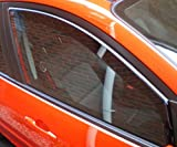 HEKO-15229 Wind Deflectors Fits Ford Fiesta 2009 on 3-Door Hatchback (2 Pieces)