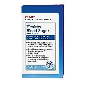 GNC Healthy Blood Sugar Formula 90 Caplets