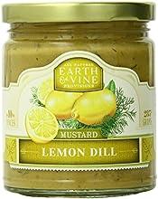 Earth amp Vine Provisions Lemon Dill Mustard 10 Ounce