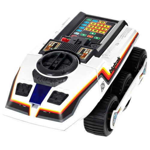 Bigtrak. The original, futuristic programmable tank which first launched in the early 80s.