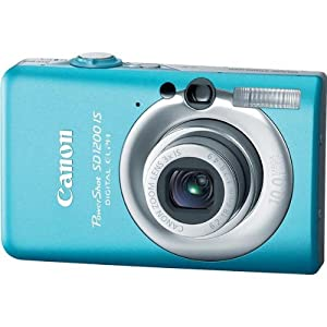 Canon PowerShot SD1200IS 10 MP Digital Camera with 3x Optical Image Stabilized Zoom and 2.5-inch LCD (Blue)