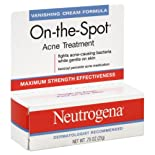 Neutrogena On-the-Spot Acne Treatment, Vanishing Cream Formula, .75 oz.