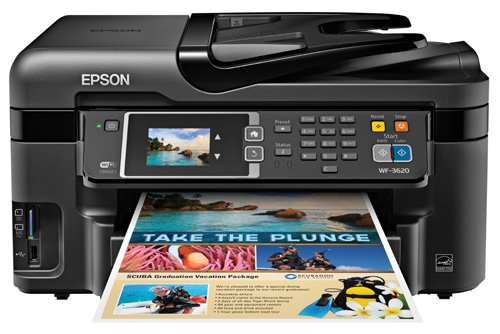 Why Choose Epson WorkForce WF-3620 Wireless and WiFi Direct All-in-One Color Inkjet Printer, Copier,...