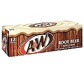 A&W ルートビア 355ml 箱入り12缶ケース