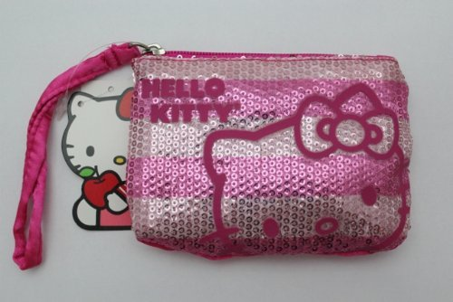 Hello Kitty Shimmery Coin Purse - 1