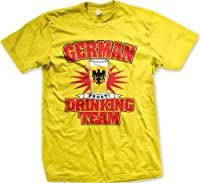 German Drinking Team Mens Germany T-shirt, Deutschland Beer Glass Prost! Design Men's Tee Shirt