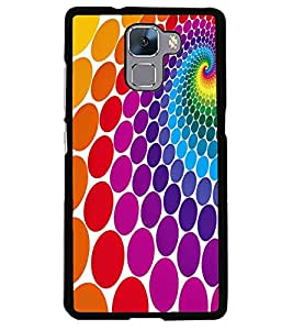printtech Pattern Back Case Cover for Huawei Honor 7 Enhanced Edition , Huawei Honor 7 Dual SIM with dual-SIM card slots