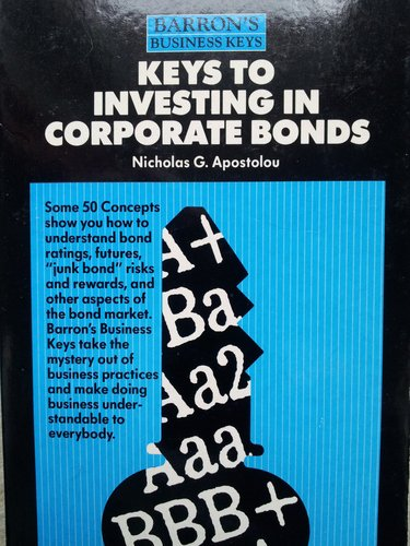 Keys to Investing in Corporate Bonds (Barron's