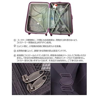 スーツケース・超軽量・小型(1~3泊)・ポリカーボネート+ABS樹脂・TSAロック搭載・機内持ち込み・スーツケース・キャリーケース・ファスナータイプ「トラベル・ハウス」Travelhouse(S,グリーン)