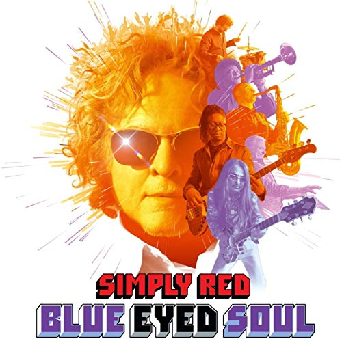 Vinilo : Simply Red - Blue Eyed Soul (Colored Vinyl)