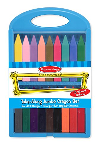 Melissa & Doug Take-Along Jumbo Crayon Set
