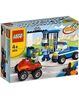 Lego Briques - 4636 - Jeu de Construction - Set de Construction - Police