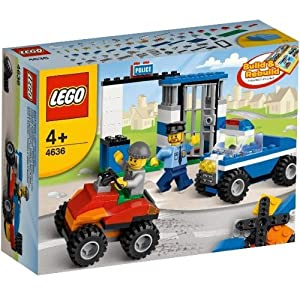 Lego 4636 Police Building Set