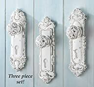 Antique Door Knob Wall Hooks – Set Of 3