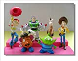 Toy Story 3 BUZZ Woody Jessie Woody's Horse Bullseye Space Alie set of 6 pcs No packaging