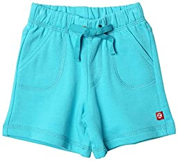 Zutano Terry Drawstring Short, Pool, 6 Months ( 0 6 months)