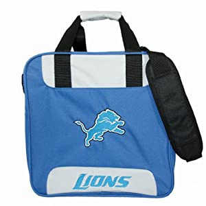 NFL Single Bowling Bag- Detroit Lions by KR Strikeforce Bowling Bags