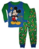 Mickey Mouse Clubhouse 12M-5T Toddler Boys Cotton Pajama Set