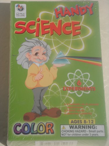 HANDY SCIENCE: 6 EXPERIMENTS, COLOR