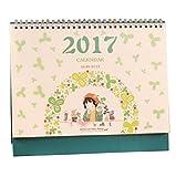 Septembre 2016 à Décembre 2017 Bureau Floral Desk Calendar Calendrier de bureau...