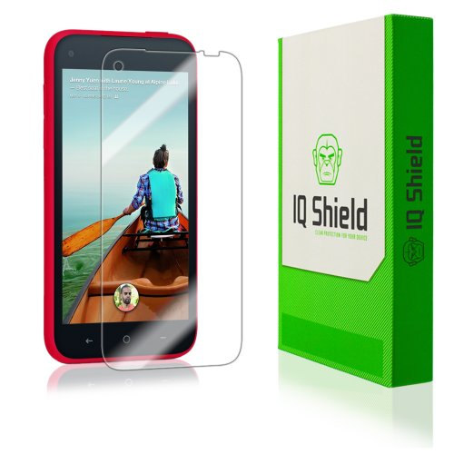Iq Shield Liquidskin - Htc First Screen Protector - High Definition (Hd) Ultra Clear Phone Smart Film - Premium Protective Screen Guard - Extremely Smooth / Self-Healing / Bubble-Free Shield - Kit Comes With Retail Packaging And 100% Lifetime Replacement front-340570