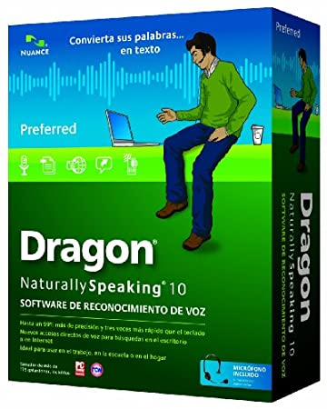 Dragon NaturallySpeaking 10 Preferred Spanish