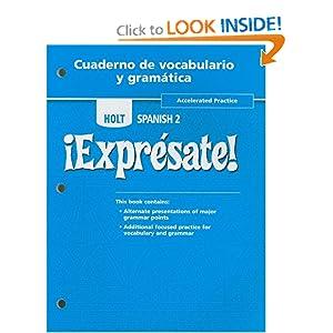 WORKBOOK SPANISH