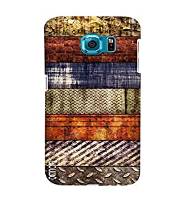 Omanm Different Pattern Rusted Designer Back Cover Case For Samsung Galaxy S7
