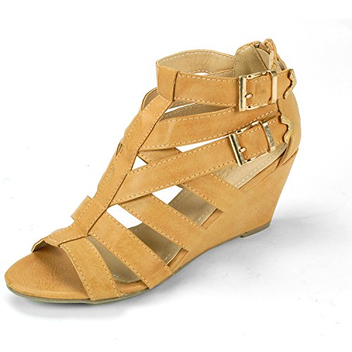 Dressy Wedge Sandals
