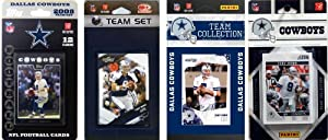 NFL Dallas Cowboys Four Different Licensed Trading Card Team Sets by C&I Collectables