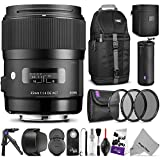Sigma-35mm-F14-ART-DG-HSM-Lens-for-CANON-DSLR-Cameras-w-Advanced-Photo-and-Travel-Bundle