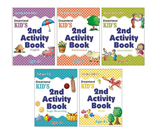 Kid's Activity Age 4+ - Pack (5 Titles) Image