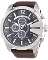 Diesel DX0182040-11 Men's Watch Quartz Chronograph XL Leather DZ4290