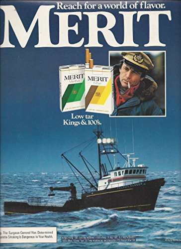 print-ad-for-1984-merit-troller-ship-in-ocean-scene