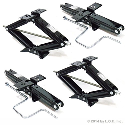 Why Should You Buy 4 - 24in. 5000 lb RV Scissor Leveling Jacks Trailer NEW with FREE SHIPPING