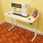 Arrow Cabinet 611 Gidget II Sewing Table, White