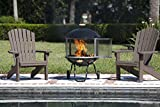 Fire Sense Bon Fire 28-Inch Portable Fireplace