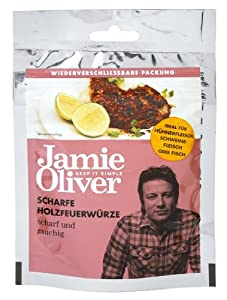 "Jamie Oliver Seasoning ""scharfe Holzfeuerwürze"" 40g"
