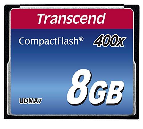 Transcend 8GB 400X Compact Flash Memory Card (TS8GCF400) (Transcend 64 Gb Cf Card compare prices)