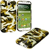 "myLife Dirty Green Camo Series (2 Piece Snap On) Hardshell Plates Case for the Samsung Galaxy S4 ""Fits Models:... by myLife Brand Products"