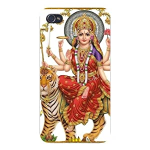 World Religion Hindu Goddess Durga on Tiger: Cell Phones & Accessories