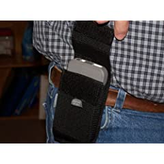 Buy Samsung Galaxy Rugby Pro Belt Loop Cell Phone Nylon holster NO CLIPS TO BREAK by Protech