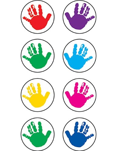 Teacher Created Resources Helping Hands Mini Stickers, Multi Color (1817)