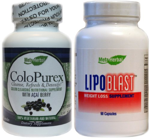Acai Cleanse, Detox, Extreme Weight Loss with Lipoblast Diet Pills ...