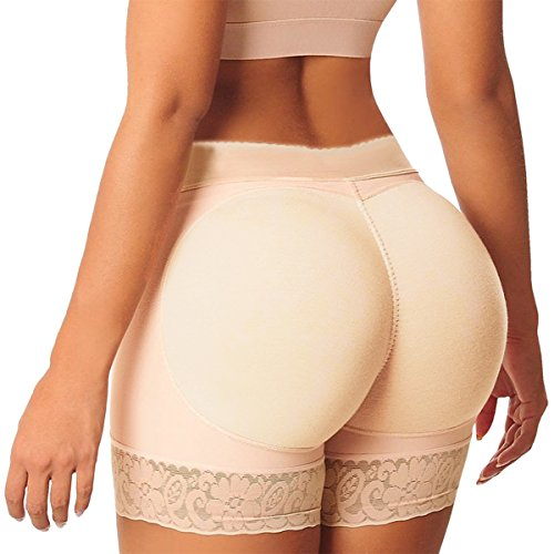 Shymay Women's Butt Lifter Seamless Enhancer Underwear Push Up Control Panties, Nude, TAG SIZE M=US SIZE X-Small (Xsmall Butt Lifter compare prices)