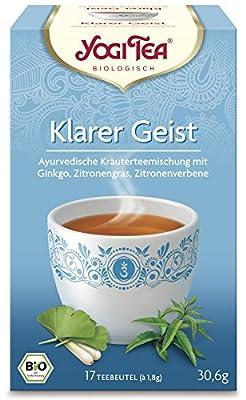 YogiTee Bio Yogi Tea Klarer Geist Bio (1 x 17 Btl) von Golden Temple KIT B.V. auf Gewürze Shop
