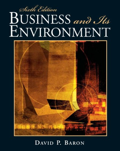 Business and Its Environment (6th Edition)