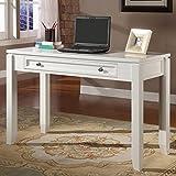 Parker House Boca 47 in. Writing Desk - Cottage White